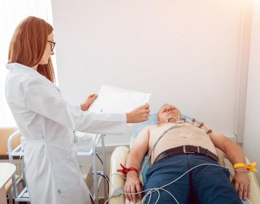 ¿Que es un electrocardiograma?